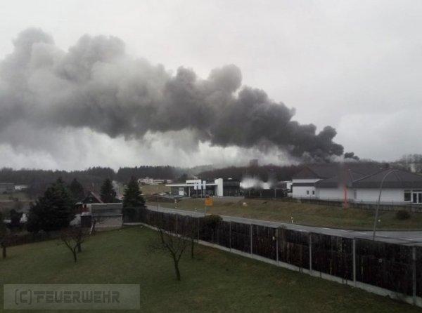 Brandeinsatz vom 26.02.2021     (C) Feuerwehr Langenwetzendorf (2021)