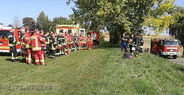 Übung vom 08.09.2018  |  (C) Feuerwehr Langenwetzendorf (2018)